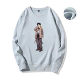 Monkey D. Luffy and Boa Hancock Matching Couple Sweatshirt