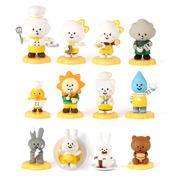 Fluffy House Mr. Fluffy Cafe Series Mini Figure Blind Box