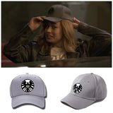 Captain Marvel SHIELD Logo Baseball Cap