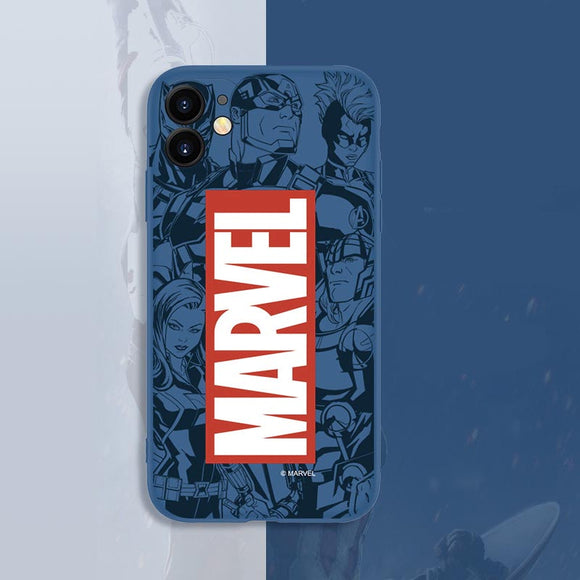 Marvel Logo Classic iPhone Protection Case