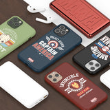 Avengers Vintage Printing Jelly iPhone Protection Case
