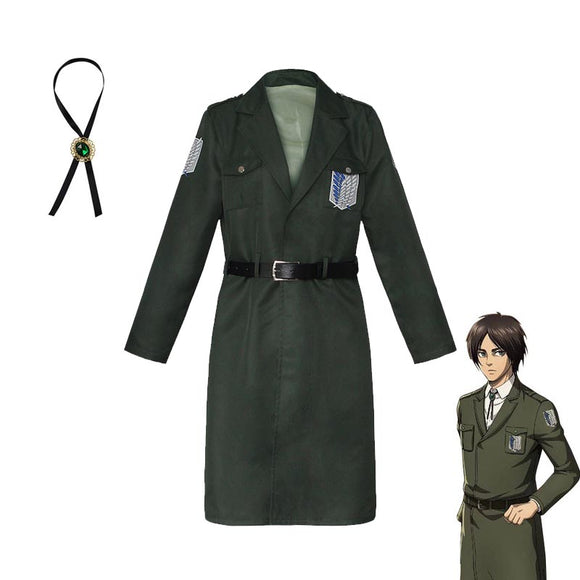 AOT Final Season Survey Corps Cosplay Coat