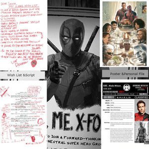 Deadpool Movie Props Top Secret Files