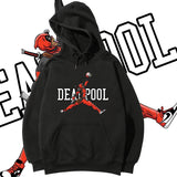 Deadpool Jumpman Playing Basketball Hoodie