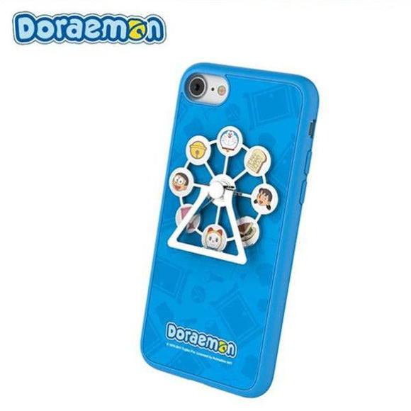 Doraemon Rotating Ferris Wheel iPhone Case