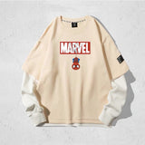 Spider-Man Loose Fit Double Layer Long Sleeves T-shirt