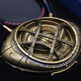 Doctor Strange Eye Of Agamotto Necklace & Sling Ring 1:1 Scale