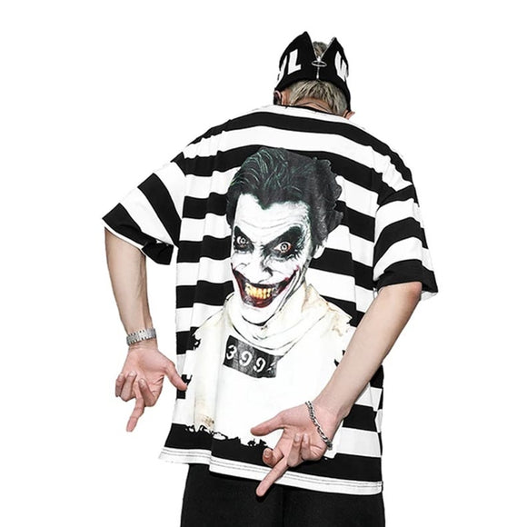 Joker Inmate Oversized Summer T-shirt