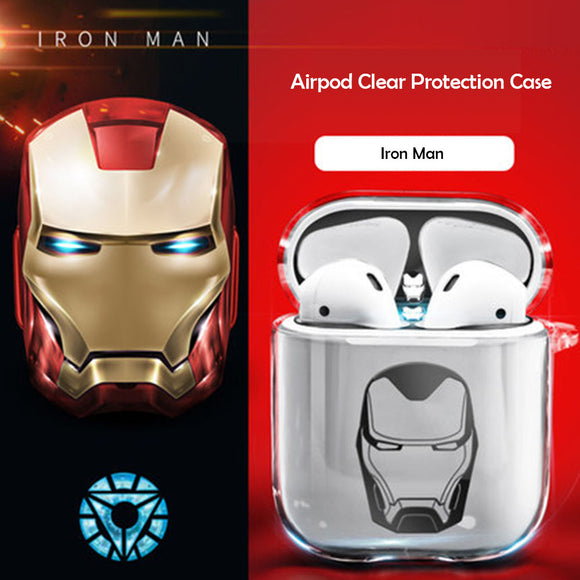Marvel Hero icon AirPods Protection Case