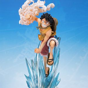 One Piece Monkey D. Luffy Bandai Brother's Bond Figuarts ZERO Statue