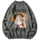 One Piece Luffy Bounty Wanted Sweater