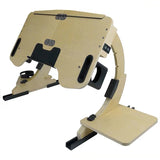 Adjustable, Foldable and Portable Laptop Desk