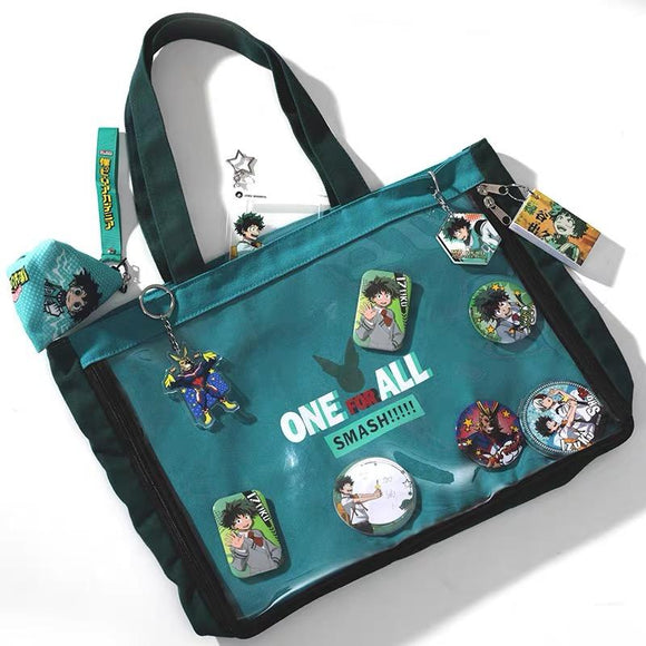 My Hero Academia Canvas Shoulder Bag