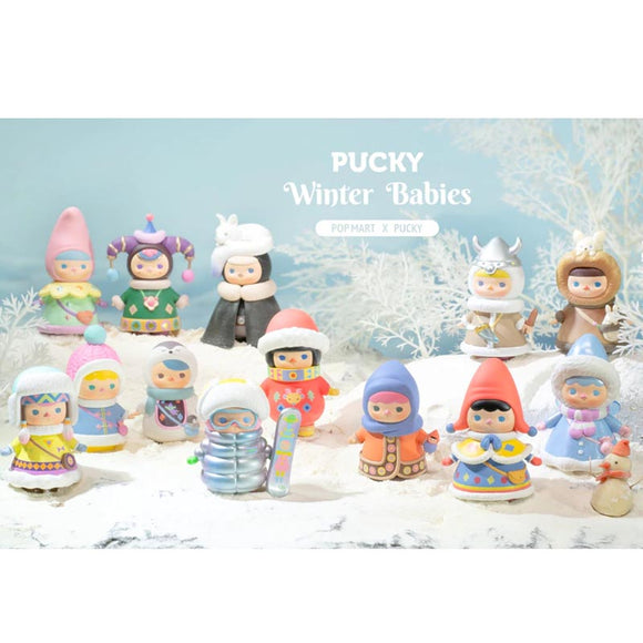 Pucky Winter Babies Mini Figures Blind Box