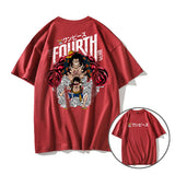 Monkey D. Luffy The Fourth Gear Summer T-shirt