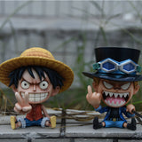 One Piece Sabo With Middle Finger GK Statue
