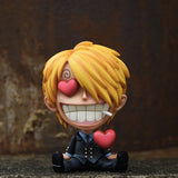 One Piece Amorous Sanji With Heart GK Statue
