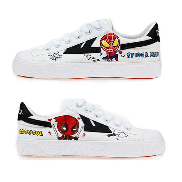 Avengers Warrior Shoes - Spiderman & Deadpool