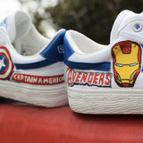 Avengers Warrior Shoes - Iron Man & Captain America