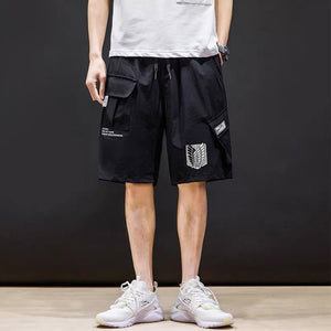 Attack on Titan Survey Corp Men's Casual Shorts