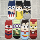 Marvel Avengers 7-Pack Low-cut Socks
