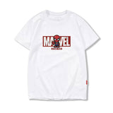 Avengers White Graphic T-shirt with Marvel Logo