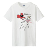 Marvel Deadpool Drawing Short Sleeves T-shirt