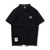 One Piece Straw Hat Crew Embroidery Polo Shirt