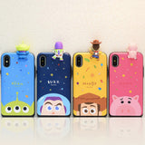 Disney Toy Story Mini Figure Slider iPhone Case