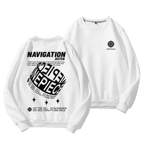 One Piece Navigation Target Sweatshirt