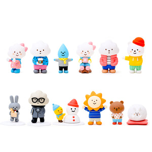 Fluffy House Mr. Fluffy Winter Series Mini Figure Blind Box