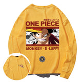 Monkey D. Luffy Double-Faced Long Sleeve T-shirt