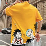 Monkey D. Luffy & Roronoa Zoro Question Mark T-shirt