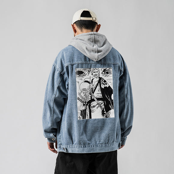 Wando Country Roronoa Zoro Denim Jacket