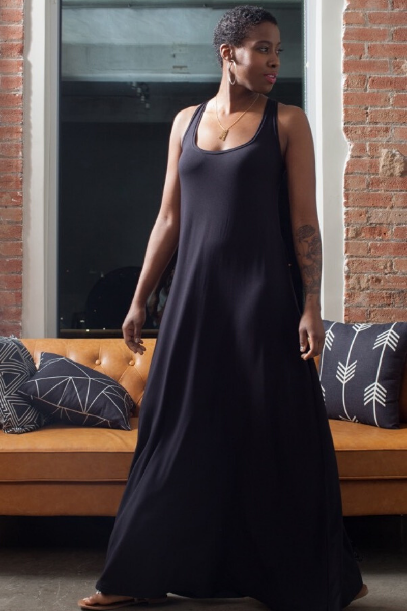 Lola Maxi Dress for Tall Women | HEIGHT GODDESS
