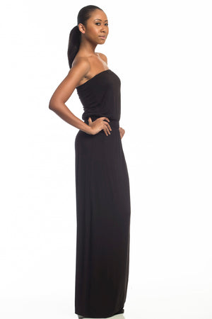 Isabella Strapless Tall Maxi Dress - HEIGHT GODDESS