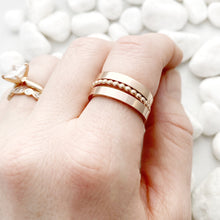 Load image into Gallery viewer, Rose Gold Stainless Spacer Rings