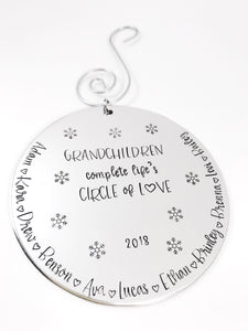 Grandchildren Ornament
