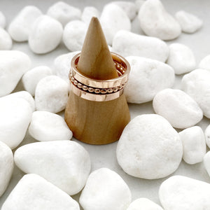 Rose Gold Stainless Spacer Rings