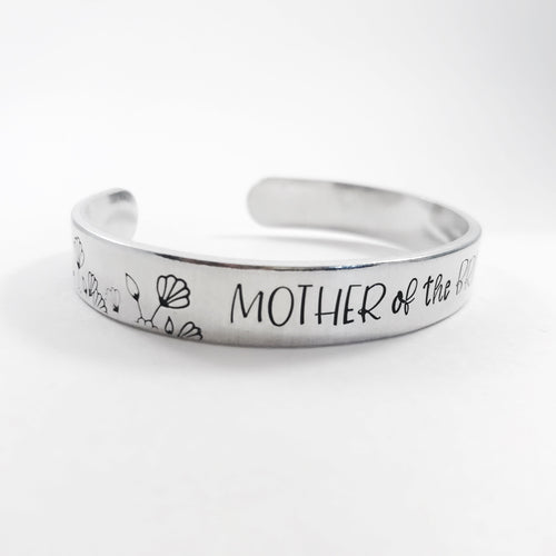 Personalized Mother of the Bride bracelet