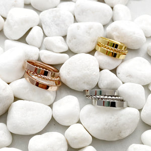 Gold Stainless Spacer Rings