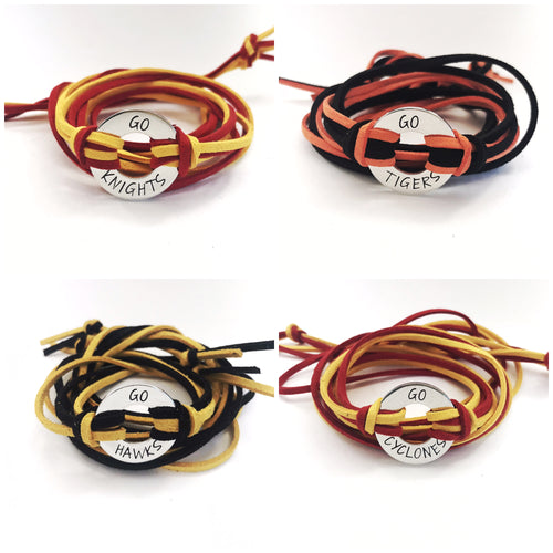Team Spirit Wrap Bracelet