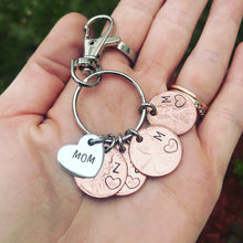 Load image into Gallery viewer, Mom penny keychain
