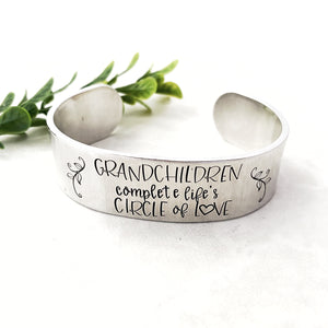 Grandchildren wide cuff