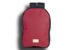 Houndstooth Red Urban Backpack