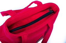 Plain Red Tote
