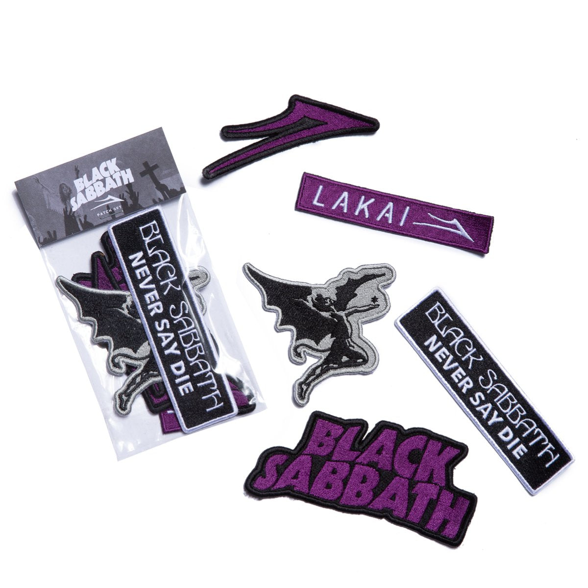 BLACK SABBATH PATCH KIT