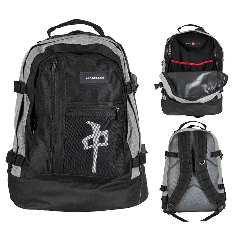 BACKPACK EXPLORER GREY/BLACK