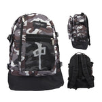 BACKPACK EXPLORER	 BLACK/CAMO