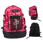 BACKPACK EXPLORER SIGNATURE RED/WHITE